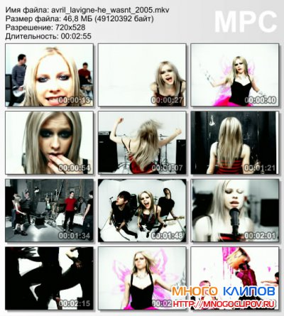 Avril Lavigne - He wasn`t