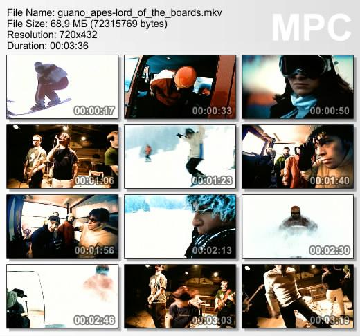 Смотреть Клипы Guano Apes