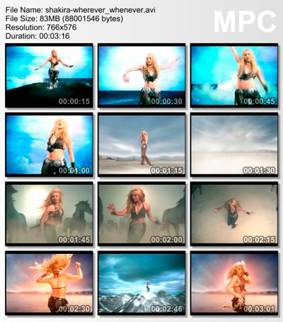 Shakira - Wherever whenever